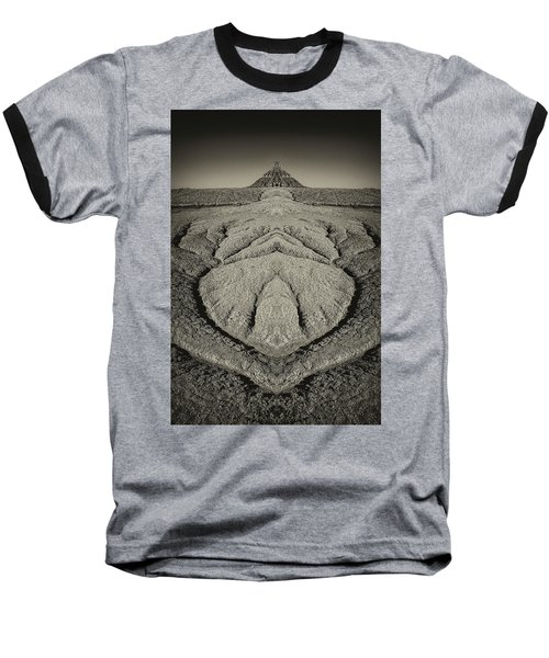 Factory Butte Digital Art Baseball T-Shirt