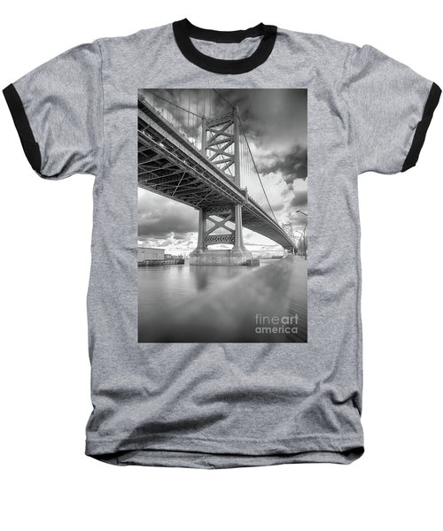 Fade To Bridge Baseball T-Shirt