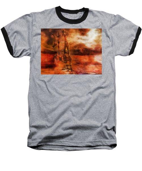 Fade To Red Baseball T-Shirt