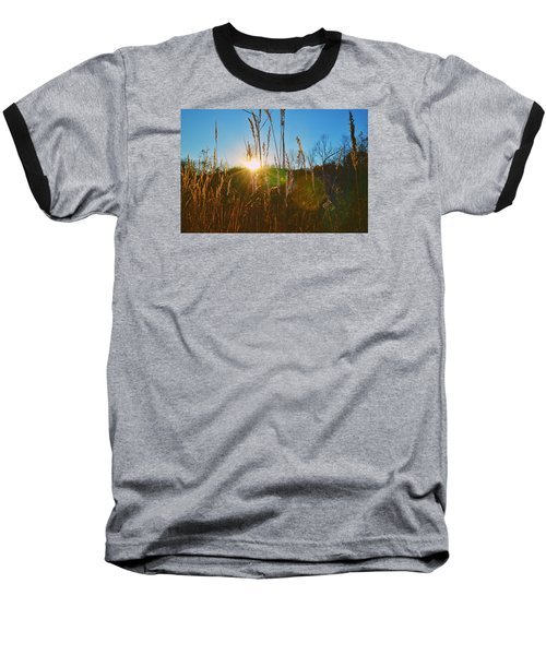 Baseball T-Shirt featuring the photograph Faded Day by Nikki McInnes