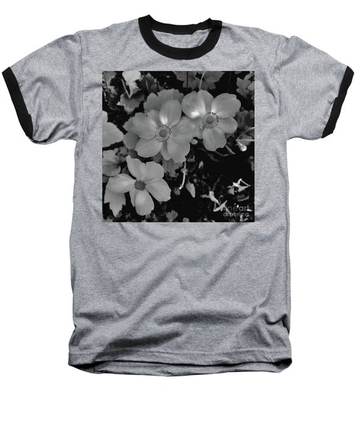 Faded Flowers Baseball T-Shirt