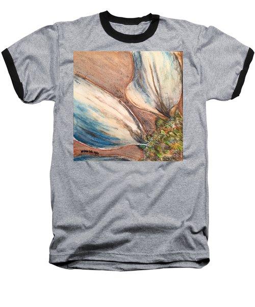 Faded Glory  Baseball T-Shirt by Vonda Lawson-Rosa