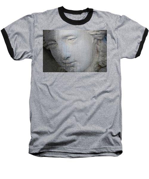 Faded Statue Baseball T-Shirt