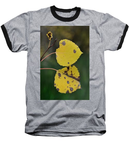 Baseball T-Shirt featuring the photograph Fading Aspen I by Ron Cline