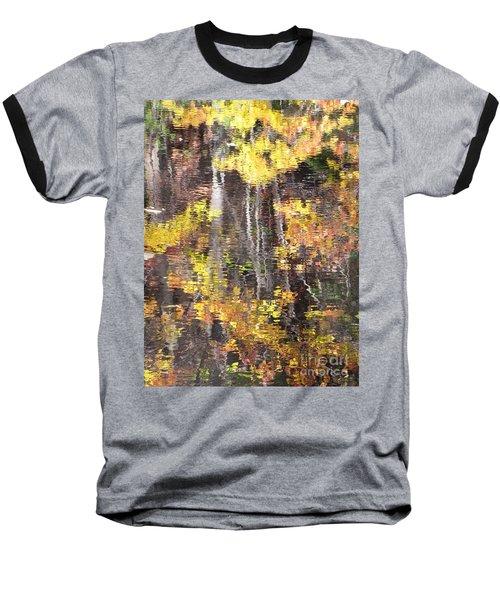 Fading Fall Water Baseball T-Shirt