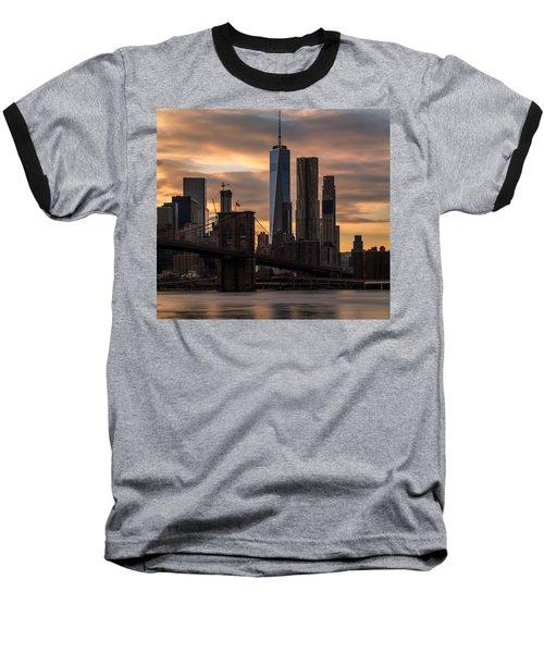 Fading Light  Baseball T-Shirt by Anthony Fields