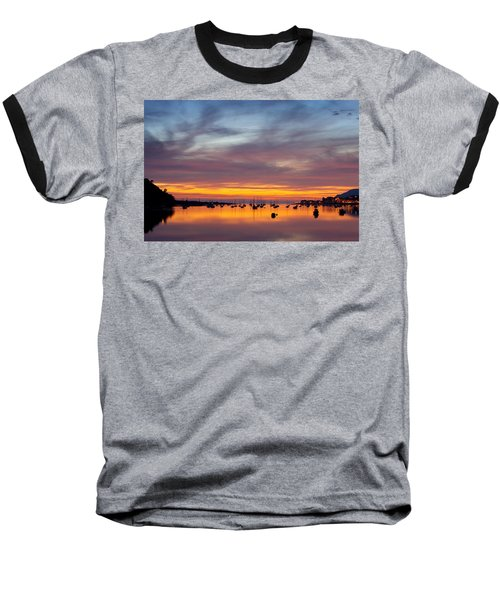 Fading Light, Conwy Estuary Baseball T-Shirt