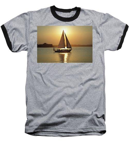 Fading Sun Baseball T-Shirt