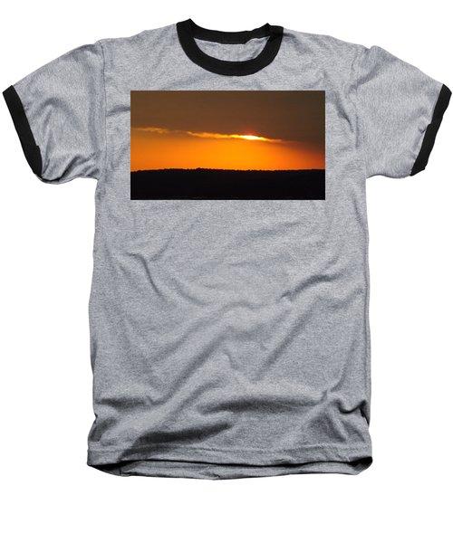 Fading Sunset  Baseball T-Shirt by Don Koester
