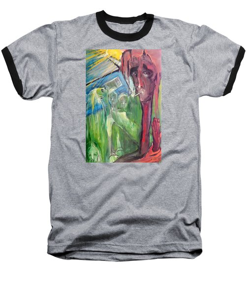 Faintly Visionary Baseball T-Shirt