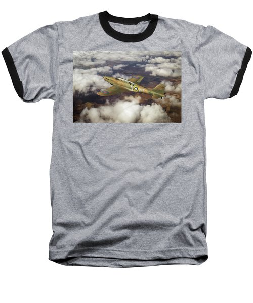 Baseball T-Shirt featuring the photograph Fairey Battle In Flight by Gary Eason
