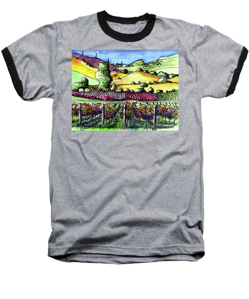 Fairfield Vineyards Baseball T-Shirt