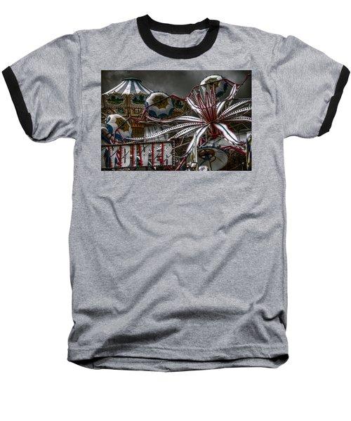 Fairground Rides Baseball T-Shirt