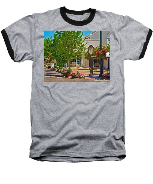 Fairhope Ave With Clock Looking North Up Section Street Baseball T-Shirt