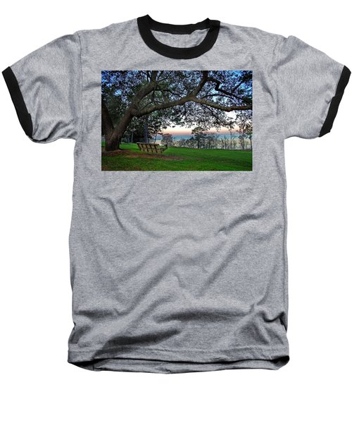 Fairhope Swing On The Bay Baseball T-Shirt