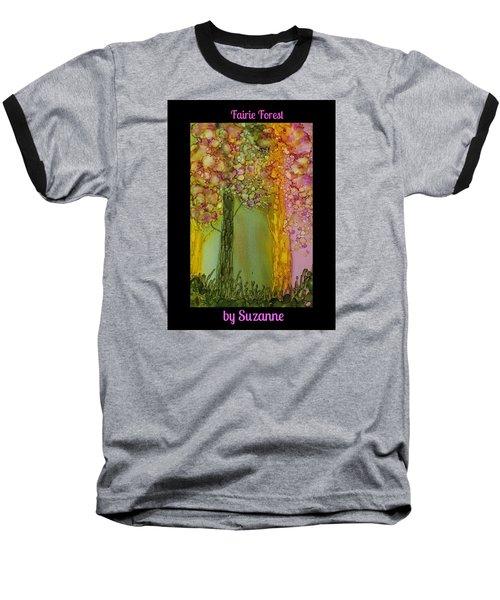 Fairie Forest Baseball T-Shirt