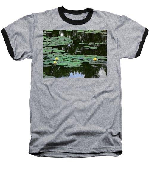 Fairmount Park Lily Pond Baseball T-Shirt