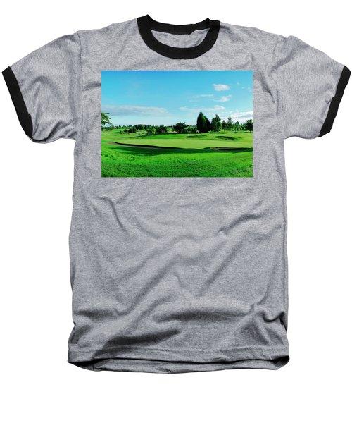 Fairway, Stirling Baseball T-Shirt by Jan W Faul