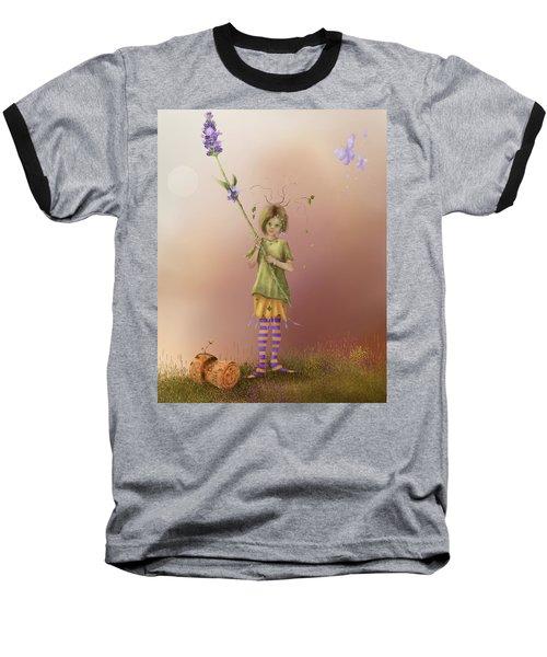 Fairy Bella Lavender Baseball T-Shirt
