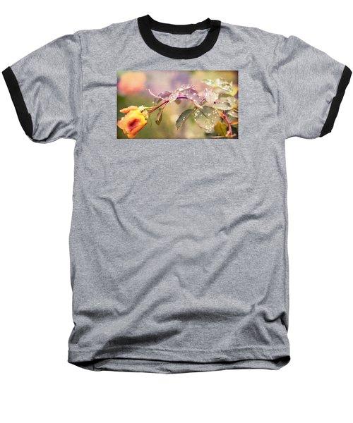 Fairy Drops Baseball T-Shirt by Cathy Donohoue