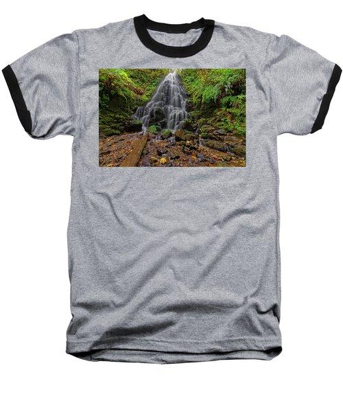 Baseball T-Shirt featuring the photograph Fairy Falls by Jonathan Davison