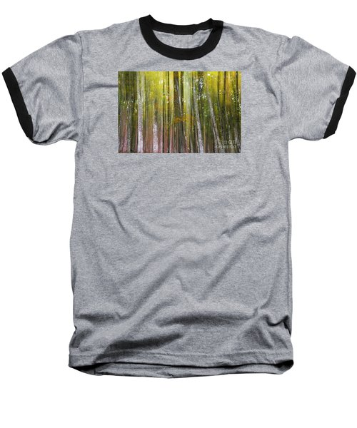 Fairy Forest I Baseball T-Shirt by Yuri Santin