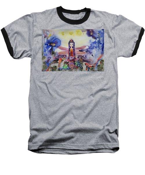 Fairy Garden  Baseball T-Shirt