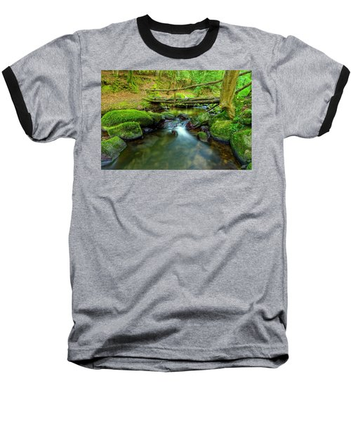 Fairy Glen Bridge Baseball T-Shirt