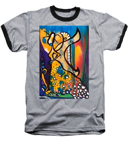 Fairy Queen - Art By Dora Hathazi Mendes Baseball T-Shirt by Dora Hathazi Mendes