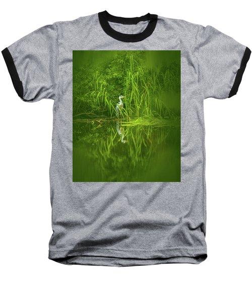 Fairy Tale Heron #g5 Baseball T-Shirt