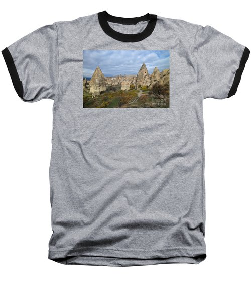 Fairy Tale Of Cappadocia Baseball T-Shirt by Yuri Santin