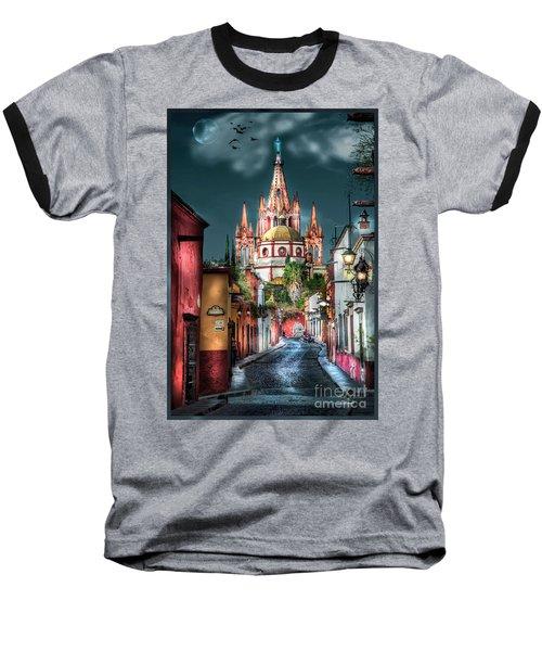Fairy Tale Street Baseball T-Shirt