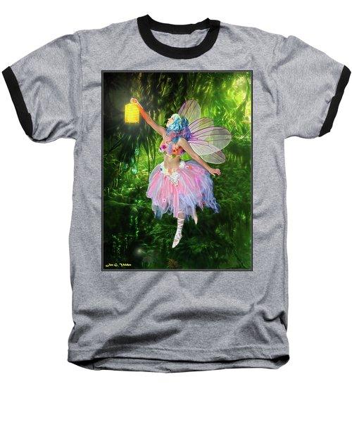 Fairy With Light Baseball T-Shirt