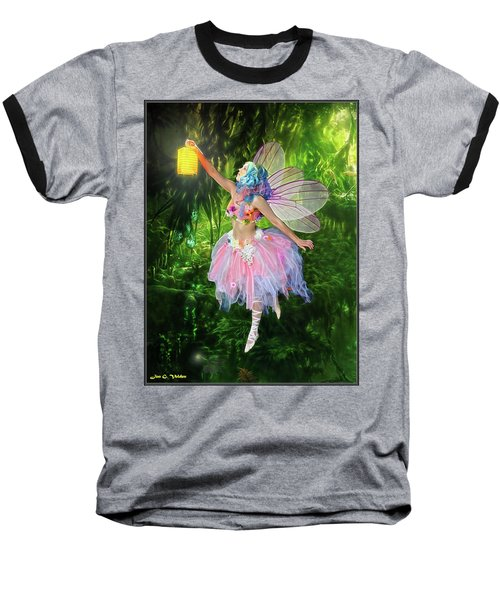 Fairy With Light Baseball T-Shirt