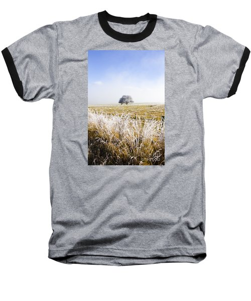 Baseball T-Shirt featuring the photograph Fairytale Winter In Fingal by Jorgo Photography - Wall Art Gallery