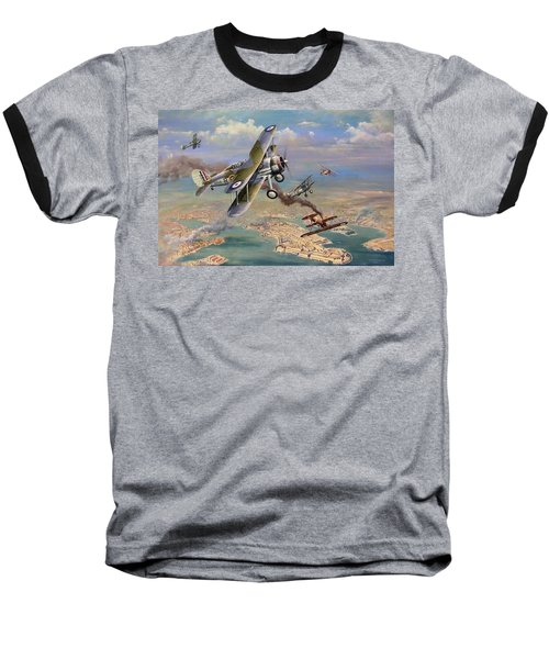 'faith, Hope And Charity' Baseball T-Shirt