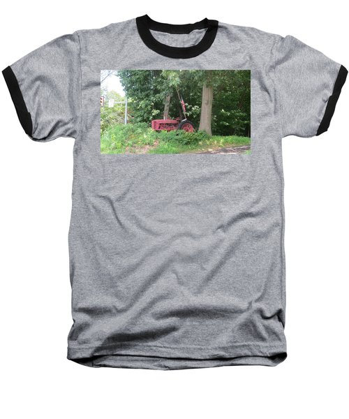 Baseball T-Shirt featuring the photograph Faithful American Tractor by Jeanette Oberholtzer
