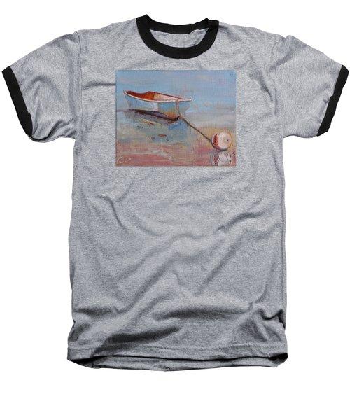 Faithful Dinghy Baseball T-Shirt by Trina Teele