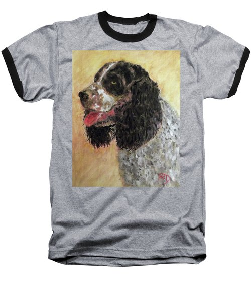 Faithful Spaniel Baseball T-Shirt