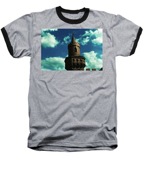 Fake German Castle Or Oberbaumbruecke Baseball T-Shirt