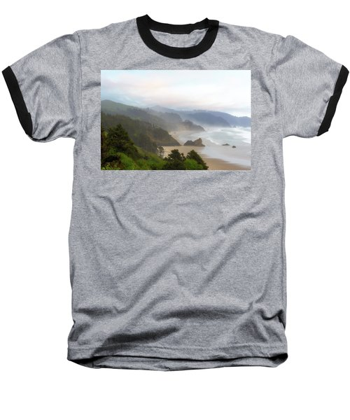 Falcon And Silver Point At Oregon Coast Baseball T-Shirt