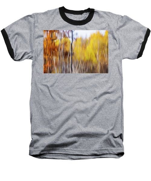 Baseball T-Shirt featuring the photograph Fall Abstract by Mircea Costina Photography