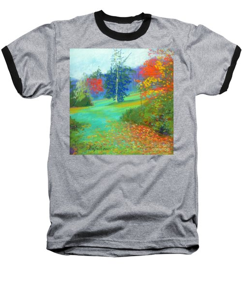 Fall Across The Field  Baseball T-Shirt