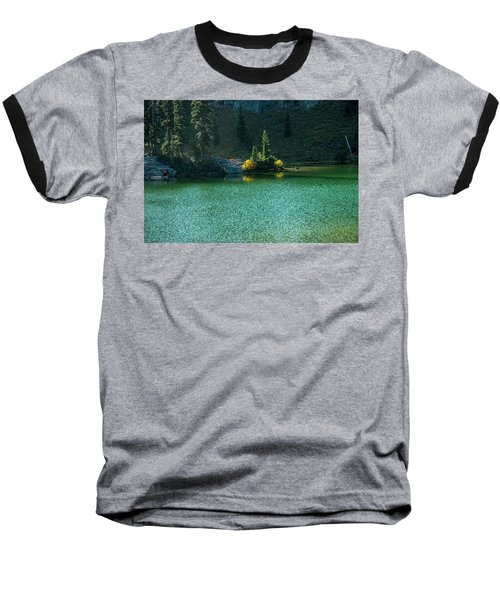 Fall Afternoon On Sheep Lake Baseball T-Shirt