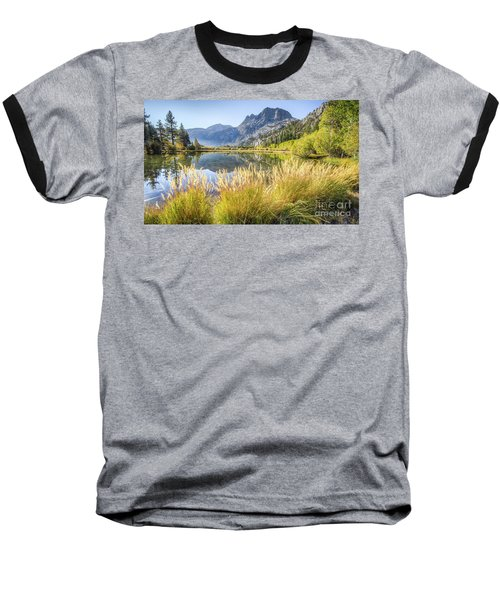 Fall Along The Creek Baseball T-Shirt