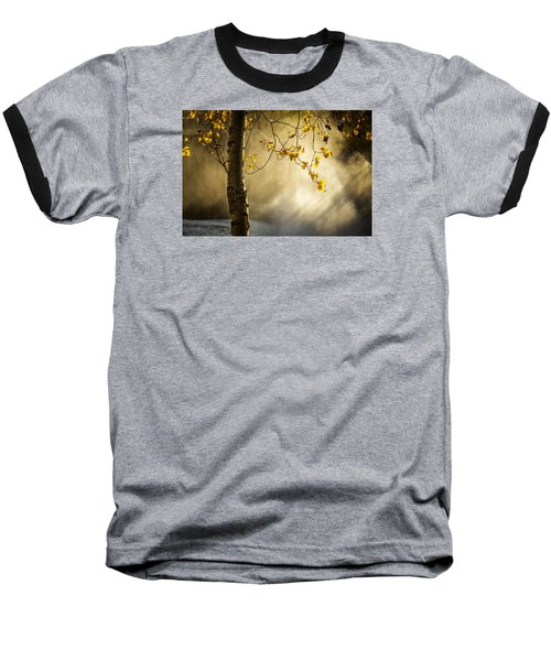 Fall And Fog Baseball T-Shirt