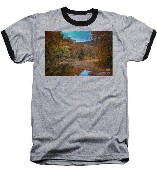 Fall At Barkers Gap Baseball T-Shirt
