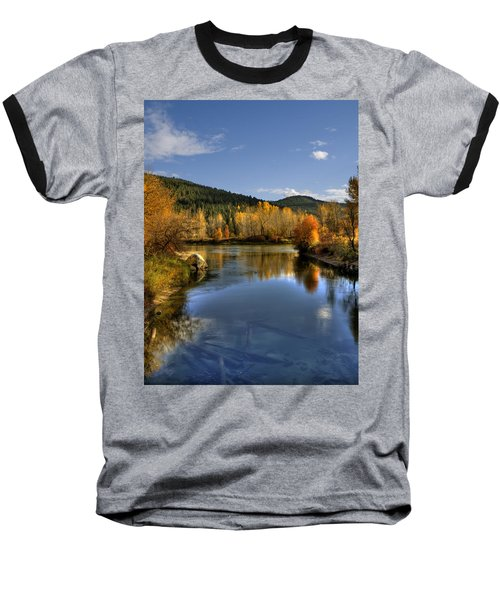 Fall At Blackbird Island Baseball T-Shirt