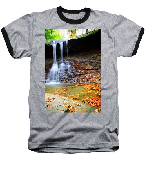 Fall At Blue Hen Falls Baseball T-Shirt