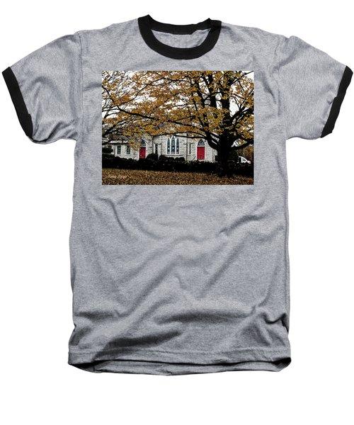 Fall At Church Baseball T-Shirt